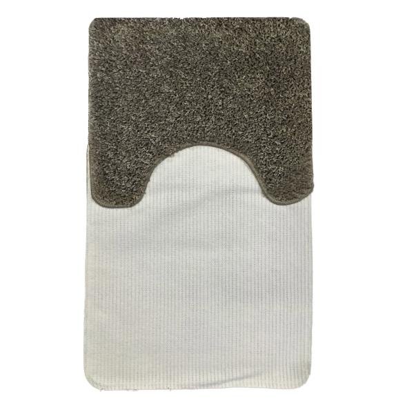 Комплект ковриков L'CADESI FULYA из полипропилена на латексной основе, 2 шт. 50x80см и 40x50см, коричневый