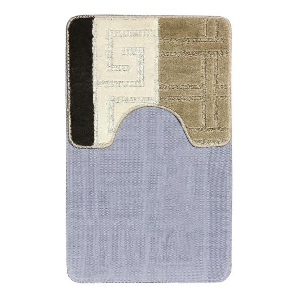 Комплект ковриков L'CADESI MARATHON из полипропилена на латексной основе, 2 шт. 60x100см и 50x60см, Египет бежевый